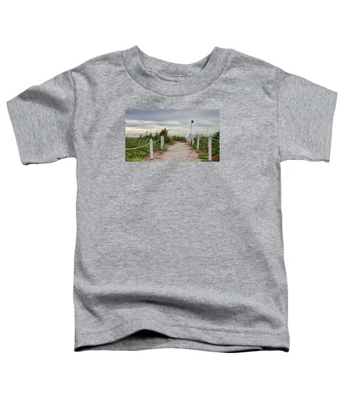 Pathway To The Beach Toddler T-Shirt
