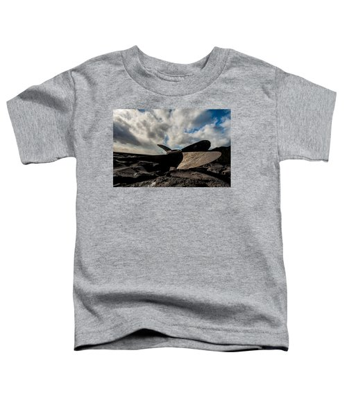 Propeller On The Beach Toddler T-Shirt