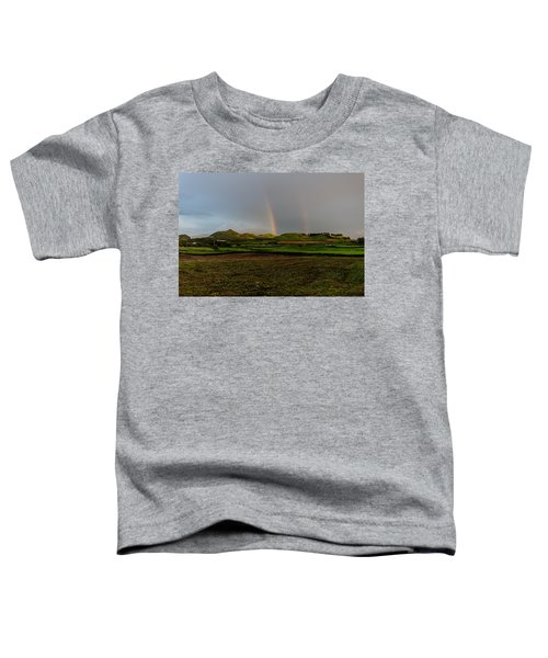 Rainbows Over The Mountain Toddler T-Shirt