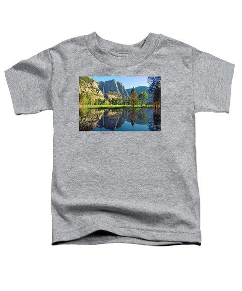 Reflections Of Yosemite Falls Toddler T-Shirt