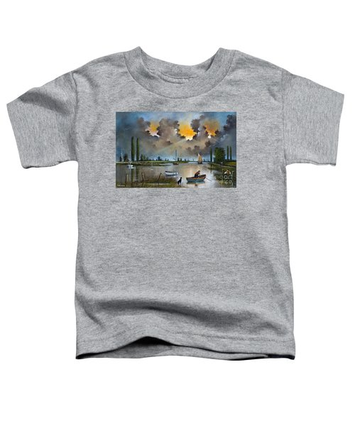 River Yare On The Broads Toddler T-Shirt
