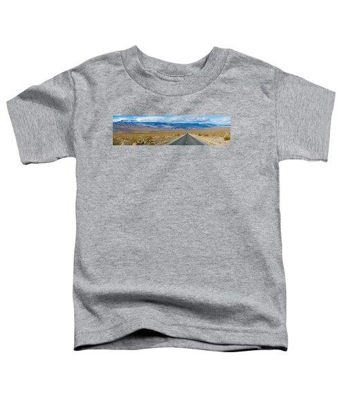 Road Passing Through A Desert, Death Toddler T-Shirt