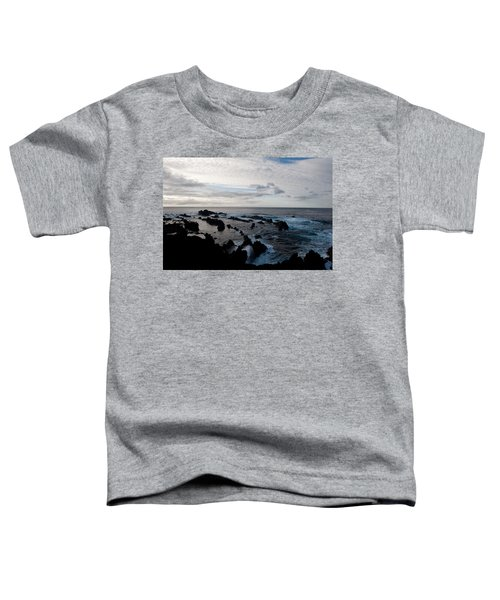 Rocky Beach At Dusk  Toddler T-Shirt