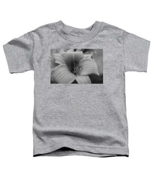 Single Spring Flower Toddler T-Shirt