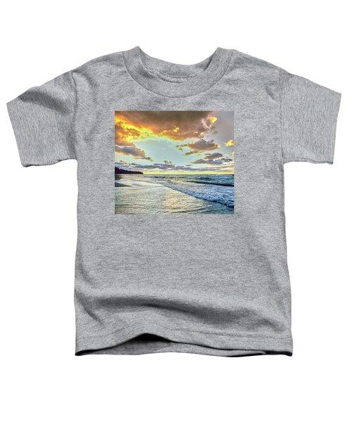 Sunset Over Lake Superior, Keweenaw Toddler T-Shirt