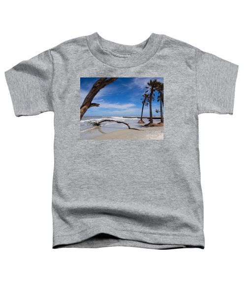 The Beach At Hunting Island State Park Toddler T-Shirt