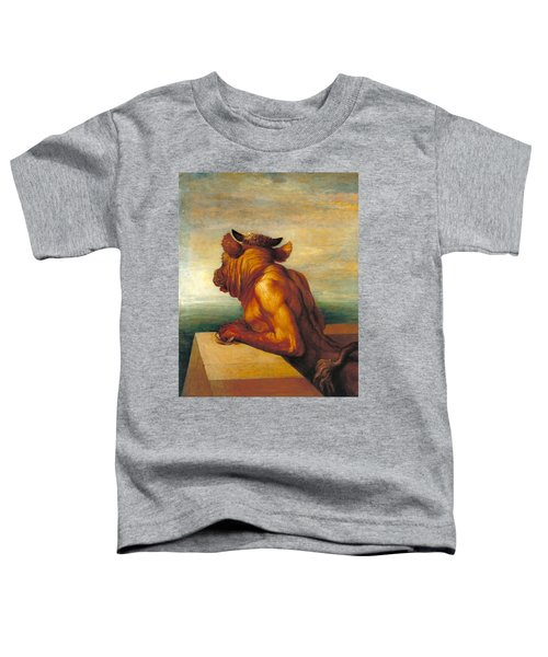 The Minotaur Toddler T-Shirt by George Frederic Watts