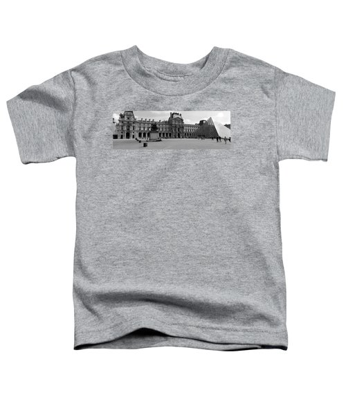Tourists In The Courtyard Of A Museum Toddler T-Shirt by Panoramic Images