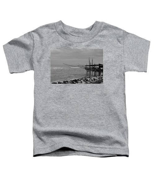 Trabocco On The Coast Of Italy  Toddler T-Shirt