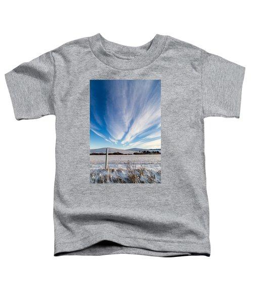 Under Wyoming Skies Toddler T-Shirt