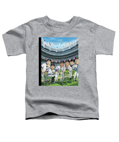 New Yorker April 8th, 2013 Toddler T-Shirt