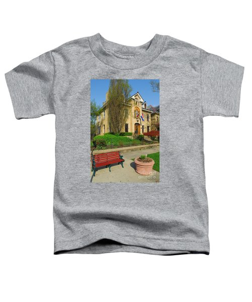 D47l-14 Victorian Village Photo Toddler T-Shirt