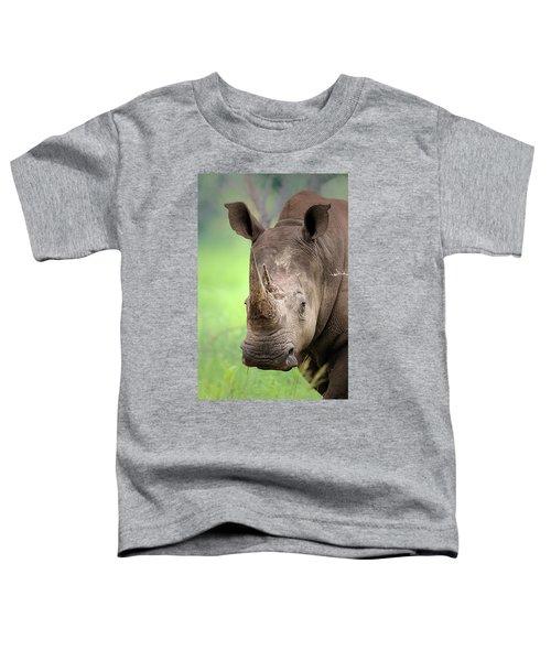 White Rhinoceros Toddler T-Shirt