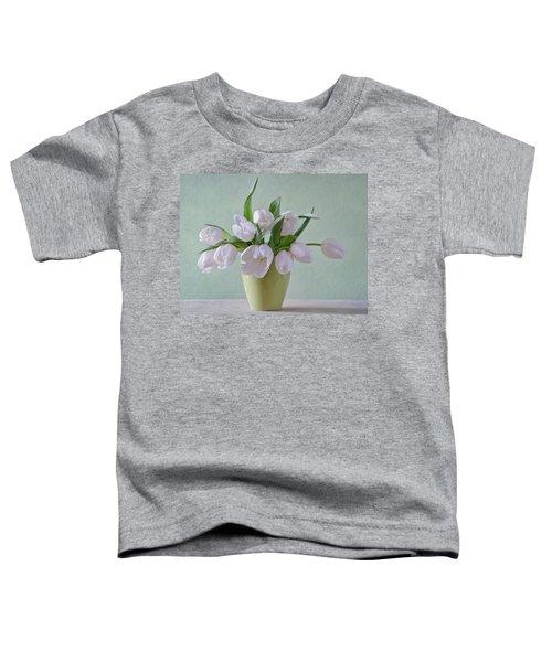 White Tulips  Toddler T-Shirt