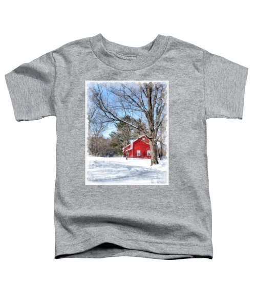 Winter In Vermont Toddler T-Shirt