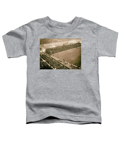 World Series Crowd At Ebbets Field Brooklyn 1920 Toddler T-Shirt