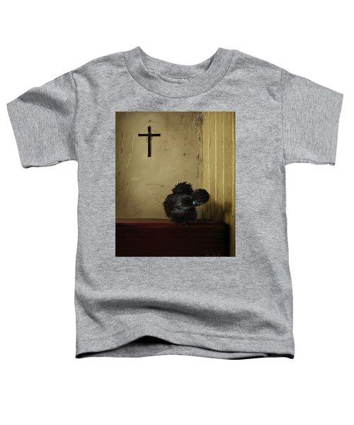 16. Black Silkie Toddler T-Shirt