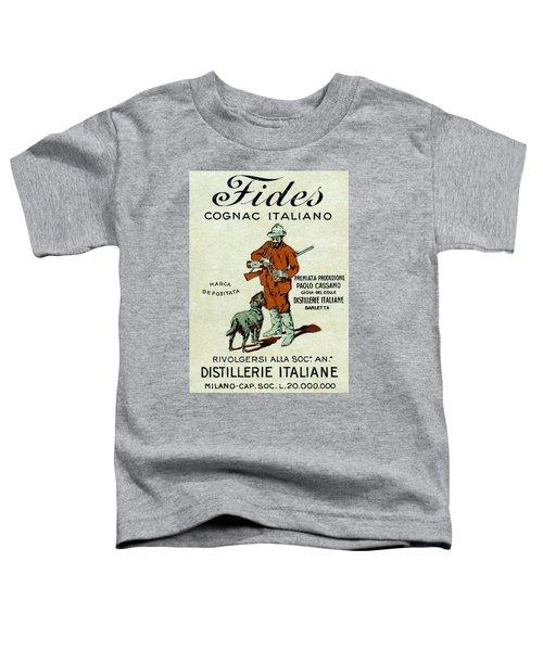 1905 Fides Italian Cognac Toddler T-Shirt