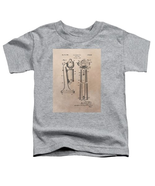 1930 Drink Mixer Patent Toddler T-Shirt by Dan Sproul