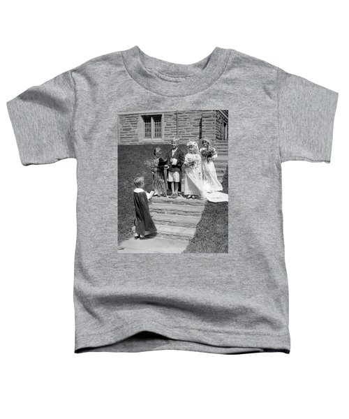1930s Children Boys And Girls Playing Toddler T-Shirt