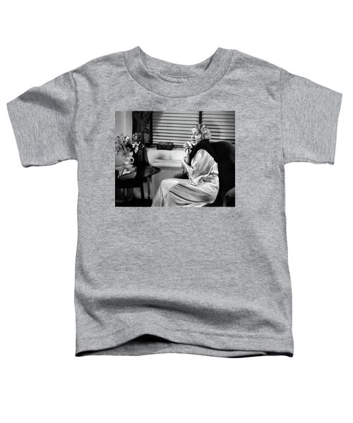 1930s Woman Sneezing Coughing With Cold Toddler T-Shirt