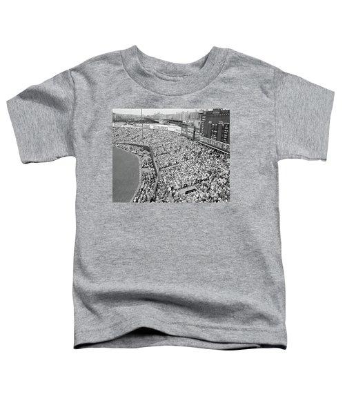1940s 1950s Large Crowd Yankee Stadium Toddler T-Shirt