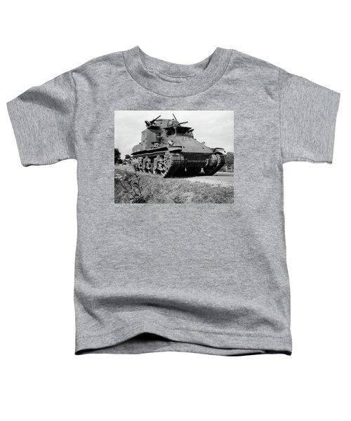 1940s World War II Era Us Army Tank One Toddler T-Shirt