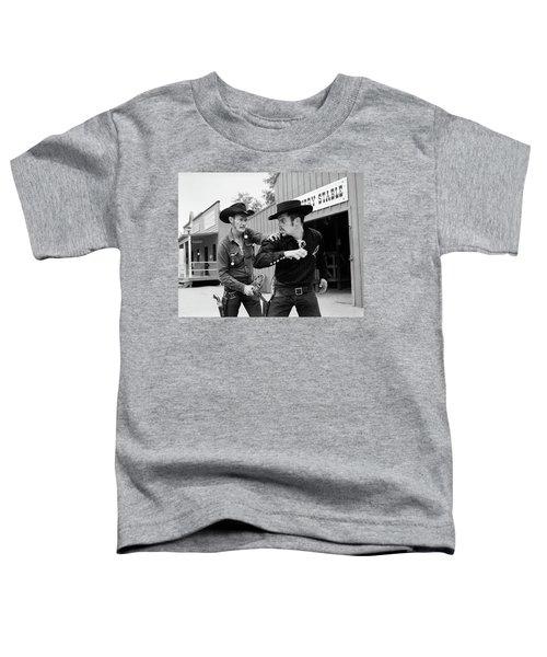 1950s 1960s Cowboy Sheriff Marshall Toddler T-Shirt