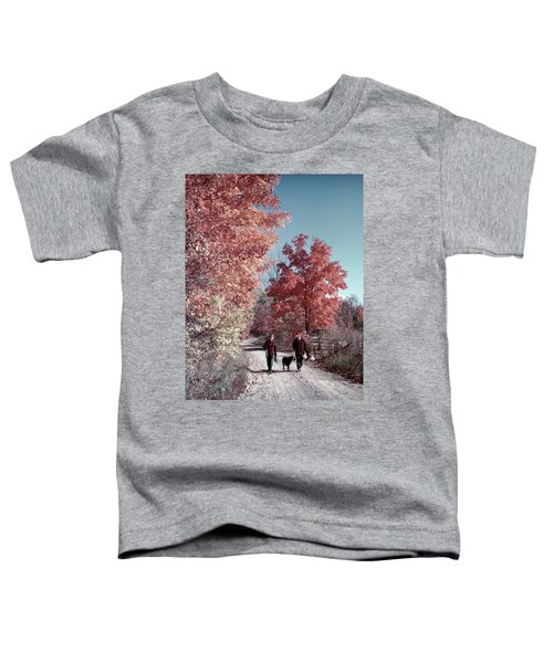 1950s 1960s Senior Couple Man Woman Toddler T-Shirt