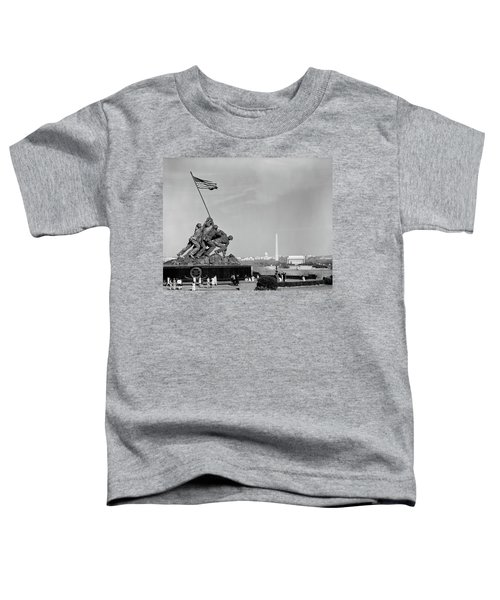 1960s Marine Corps Monument Toddler T-Shirt