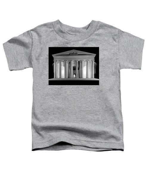 1960s Thomas Jefferson Memorial Lit Toddler T-Shirt