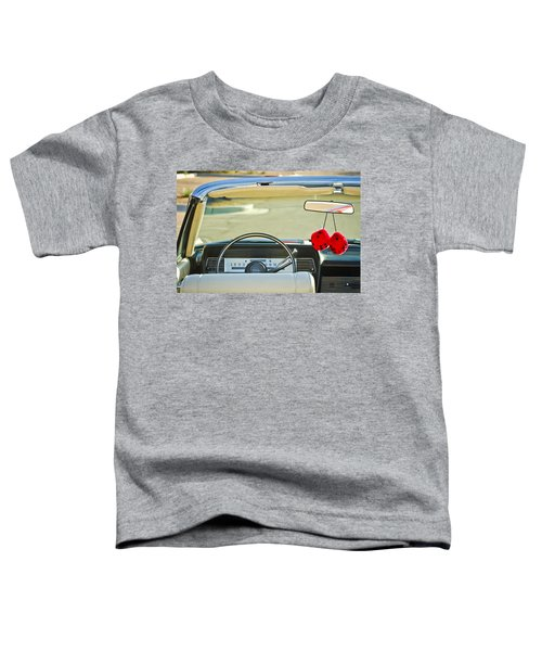 1967 Lincoln Continental Steering Wheel -014c Toddler T-Shirt