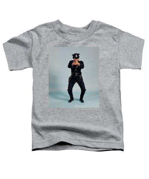 1970s Full Length Man African American Toddler T-Shirt