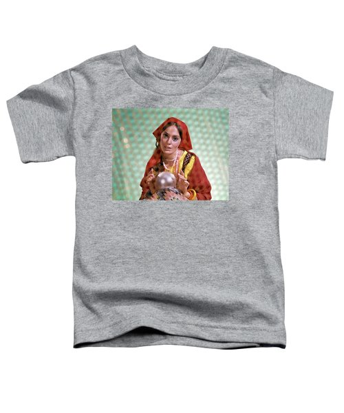 1970s Gypsy Woman Fortuneteller Fortune Toddler T-Shirt