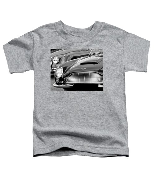 1965 Aston Martin Db6 Short Chassis Volante Toddler T-Shirt