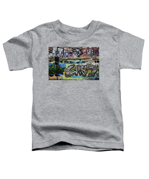 Artistic Graffiti On The U2 Wall Toddler T-Shirt by Panoramic Images