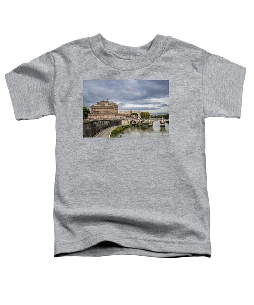 Castle St Angelo In Rome Italy Toddler T-Shirt