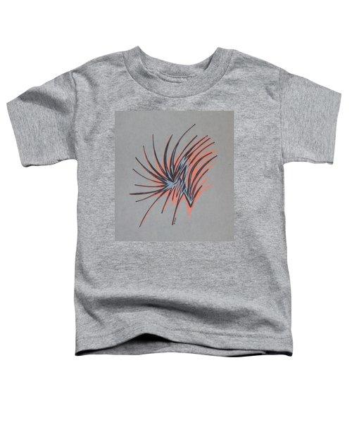Orange Burst Toddler T-Shirt