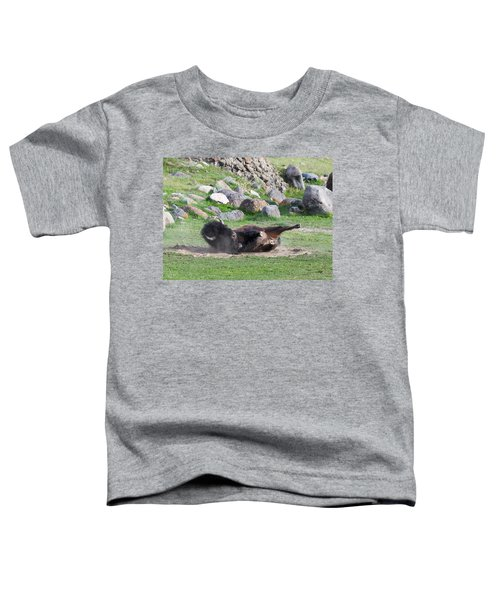 Yellowstone Bison Toddler T-Shirt