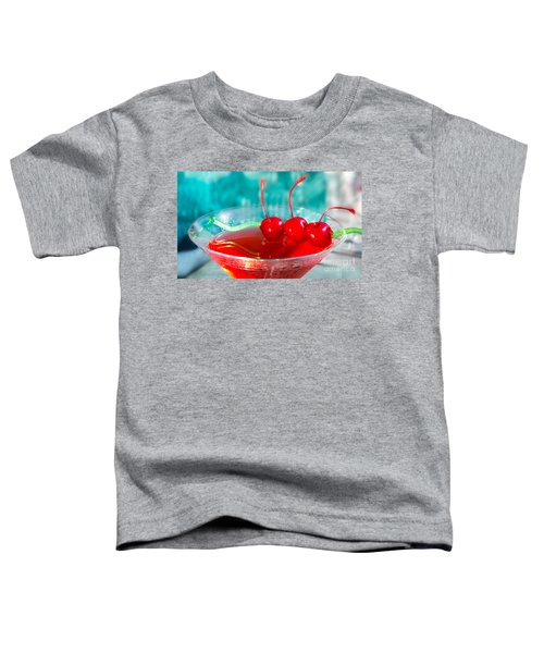 Shirley Temple Drink Toddler T-Shirt
