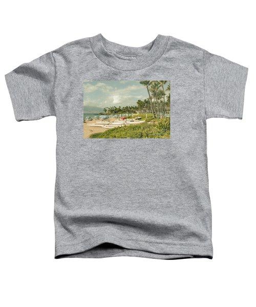 Wailea Beach Maui Hawaii Toddler T-Shirt