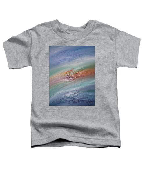 Original Abstract Masterpiece Toddler T-Shirt