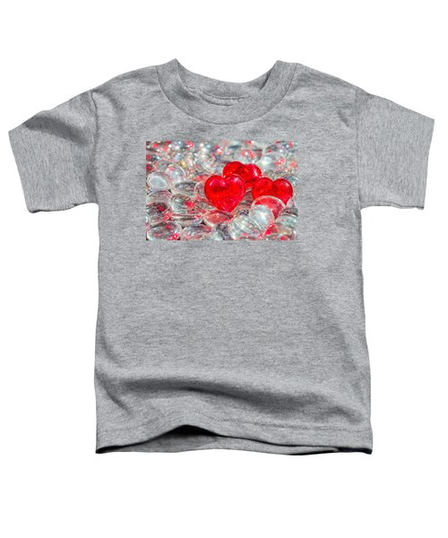Crystal Heart Toddler T-Shirt