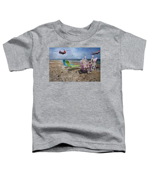 Search Party Toddler T-Shirt by Betsy Knapp