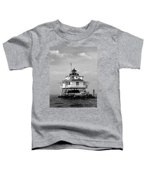 Thomas Point Shoal Lighthouse Toddler T-Shirt
