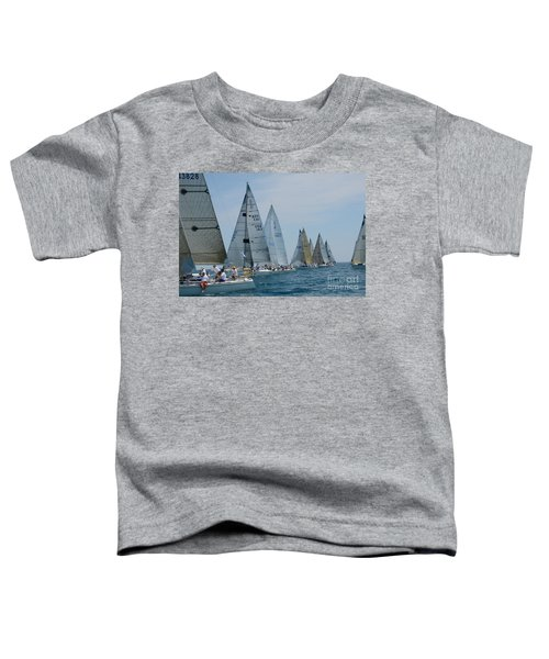 Sailboat Race Toddler T-Shirt
