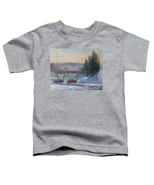 A Cold Morning Toddler T-Shirt