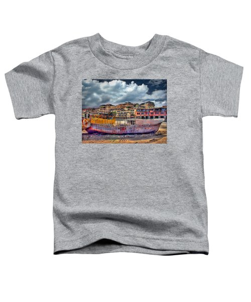 A Genesis Sunrise Over The Old City Toddler T-Shirt