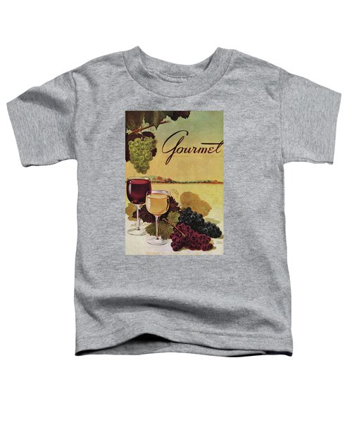 A Gourmet Cover Of Wine Toddler T-Shirt