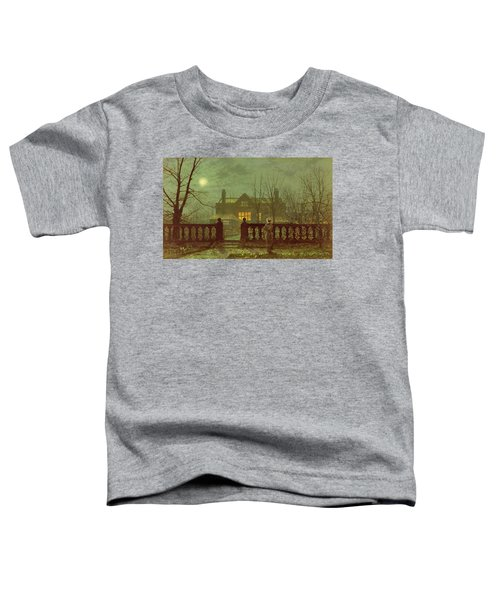 A Lady In A Garden By Moonlight Toddler T-Shirt